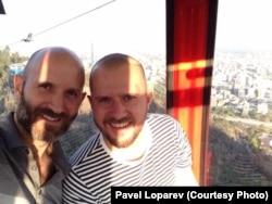 Франциско Бустаманте и Павел Лопарев