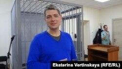 Координатор штаба Навального в Иркутске Сергей Беспалов в суде