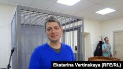 Координатор штаба Навального в Иркутске Сергей Беспалов в суде, 17 ноября