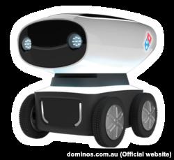 Робот компанії Domino's DRU