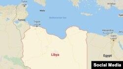 MOldova - map Lybia