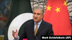 Pakistani Foreign Minister Mahmood Qureshi