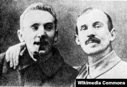 Уладыслаў Галубок і Францішак Аляхновіч. 1918 год