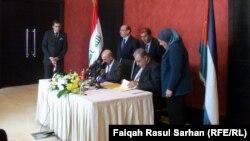 عمان: مراسم التوقيع على اتفاقيات بين العراق والاردن