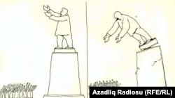 Rəşid Şərifin karikaturası - Déjà vu