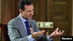 Башар Асад, Сирия президенті.