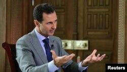 Presidenti i Sirisë, Bashar al-Assad.