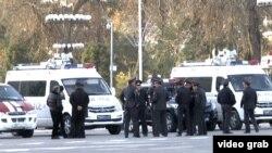 Полицейские в столице Таджикистана Душанбе. Иллюстративное фото.