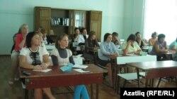 Татар һәм удмурт теле укытучылары конференциясендә
