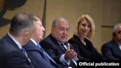 Հայաստանի նախագահ Արմեն Սարգսյանը մասնակցում է ՎԶԵԲ ԱԼԳ գագաթնաժողովին