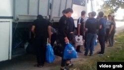Таджикские мигранты.