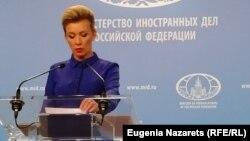 Россия Ташқи ишлар вазирлиги матбуот котиби Мария Захарова: