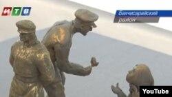 Ескіз пам'ятника депортації кримських татар, скульптор Степан Феодоріді