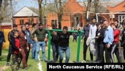 В Чечне отметили снятие режима КТО казацкими играми