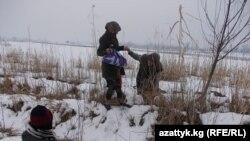 Границата меѓу Узбекистан и Таџикистан