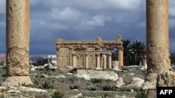 Руины храма Баал-Шамина в Пальмире. Иллюстративное фото.