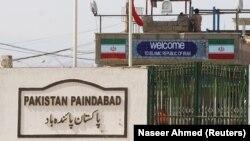 تصویری آرشیوی از مرز ایران و پاکستان در منطقه تفتان