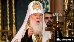 За словами Філарета, митрополита не шантажували, а «вмовляли» зняти свою кандидатуру під час обрання голови ПЦУ