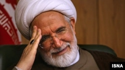 Iranian opposition figure Mehdi Karrubi (file photo)
