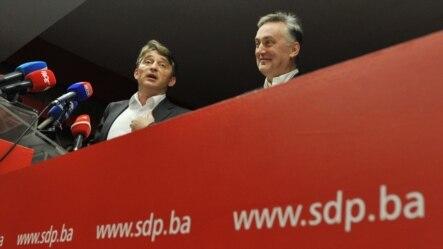 Željko Komšić i Zlatko Lagumdžija u martu 2012.