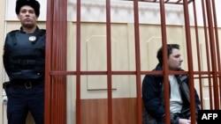 Олександр Круглов у залі суду