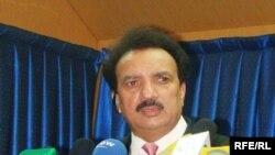 د پاکستان د کورنیو چارو وزیر رحمان ملک وايي، په بلوچستان کې اوس حالات ښه شوي دي