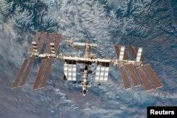 Халықаралық ғарыш станциясы.