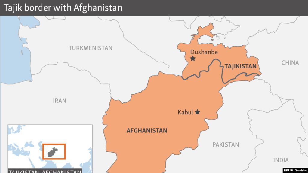 مقامات تاجکستان: یک کشور خارجی شورشیان را در افغانستان تقویت میکند