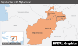 Afganistanul se învecinează cu Tadjikistanul la nord