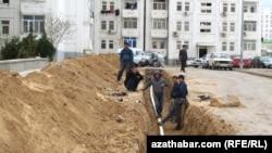 Работы по ремонту коммуникаций, Ашхабад