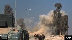 Эпизод операции по взятию города Мосула, 23 февраля 2017 года.