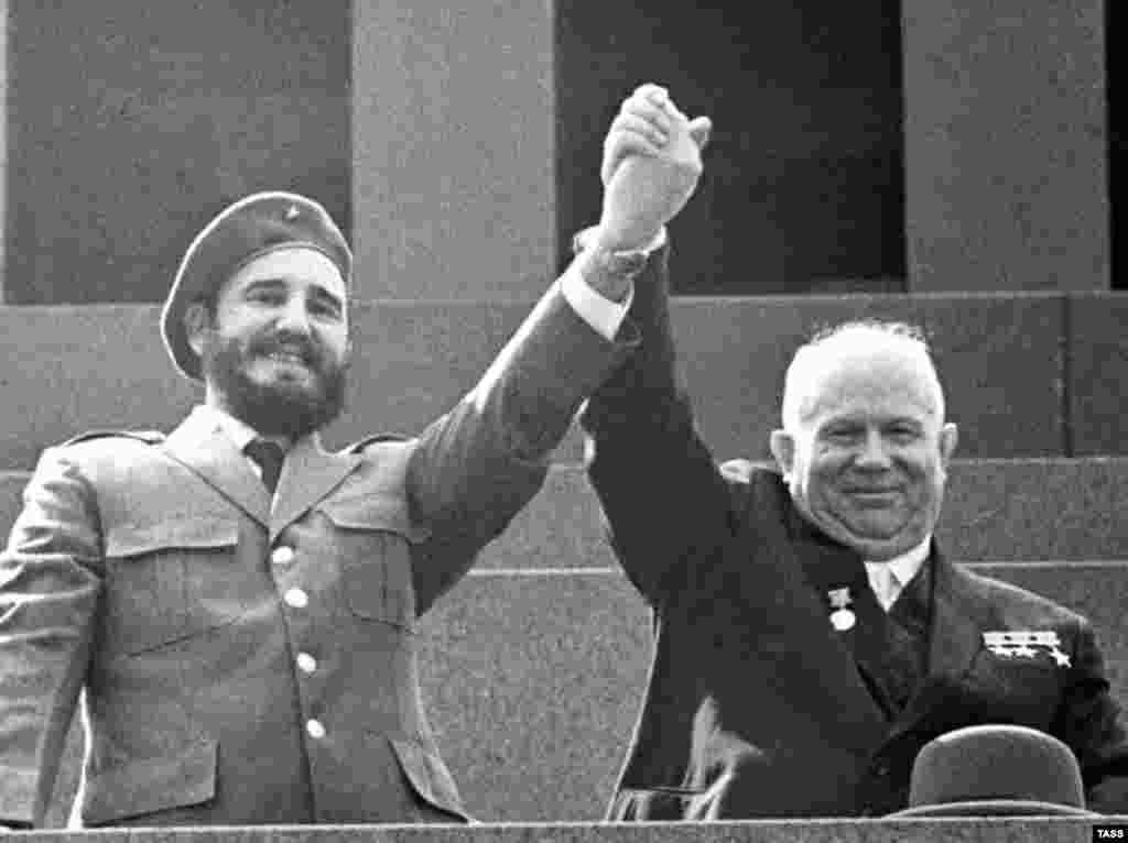 С Никитой Хрущевым, 1962 год.