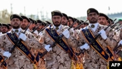 Members of the Islamic Revolutionary Guards Corps (IRGC) (file photo)