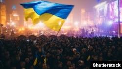 Майдан незалежності, Київ, 24 листопада 2013 року