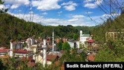 Pamje nga Srebrenica, 2017.