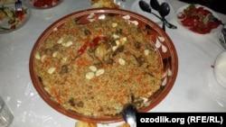 Энг арзон палов Наманганда бўлиб, бир порцияси 11571 сўм.