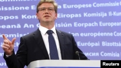 Комиссар Евросоюза по вопросам расширения ЕС и политике добрососедства Штефан Фюле