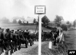 Intrarea trupelor naziste în Cehoslovacia