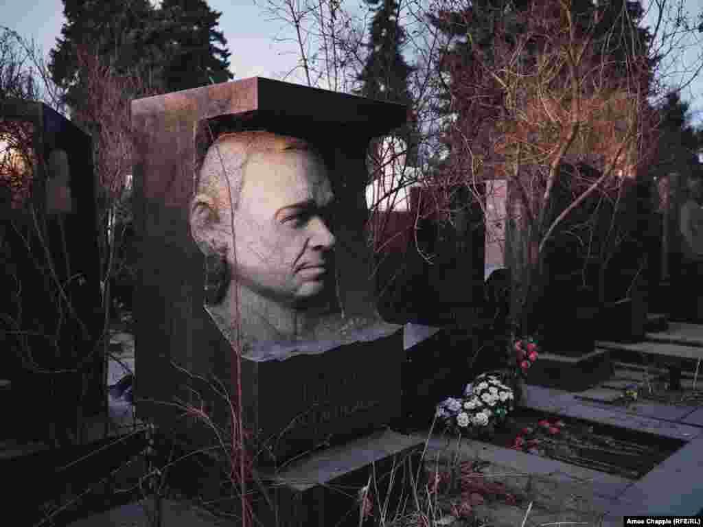 The final resting place of Soviet politician Nikolai Skvortsov.