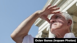 Mircea Diaconu, căutând ziua alegerilor