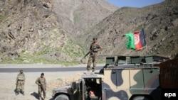 Ushtarë afganë, foto nga arkiva