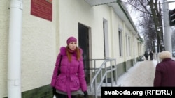 Alena Kavakenka in Vitebsk on January 18
