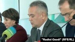 Насим Олимзода, министр здравоохранения и социальной защиты Таджикистана
