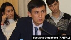 Казахстанский адвокат Джохар Утебеков.