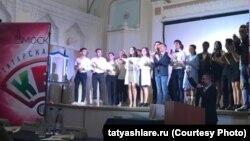 """Мәскәүдә татар яшьләре """"Шаяннар һәм тапкырлар мәҗлесе""""ндә"""