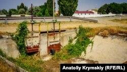 Засуха в селе Ишунь, Джанкойский район Крыма. Июнь 2018 года