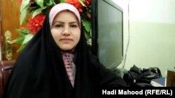رئيسة اللجنة القانونية في مجلس محافظة المثنى