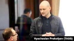 Aktivisti opozitar rus, Sergei Udaltsov