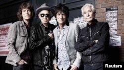 Rolling Stones біля лондонського клубу Marquee у Лондоні, 11 липня 2012 року