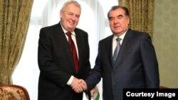 Чешский президент Милош Земан посетит с официальным визитом Таджикистан